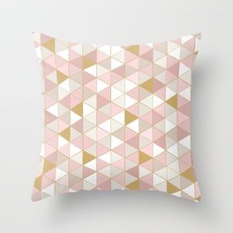 GOLDPINK Throw Pillow
