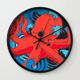 Release the Kracken Octopus Wall Clock