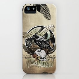 Crooked Kingdom - Change The Game iPhone Case