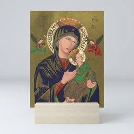 Our Lady of Perpetual Help, 1870 Mini Art Print
