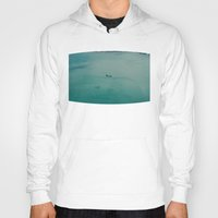 airplane Hoodies featuring Airplane by Nick De Clercq
