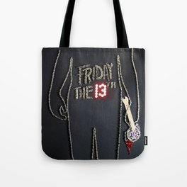 068: Friday the 13th - 100 Hoopties Tote Bag