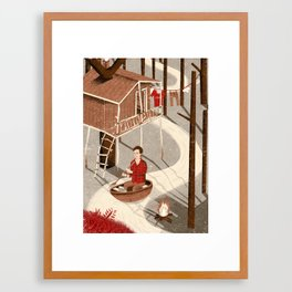 Forest Dweller Framed Art Print
