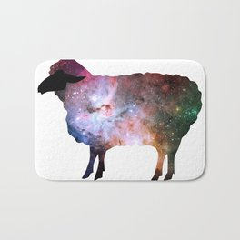 Psychedelic Sheep of the Family (2) Bath Mat