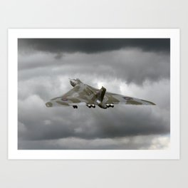 Vulcan to the sky Art Print