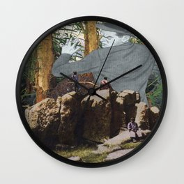 There's No Escape Wall Clock