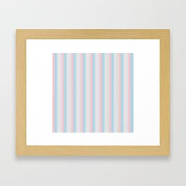 Candy stripe Framed Art Print