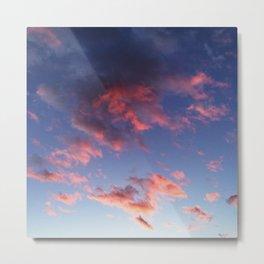 Pastel clouds Metal Print