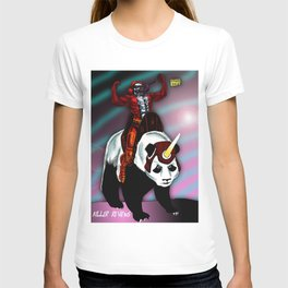 KILLER AND PANDACORN T-shirt