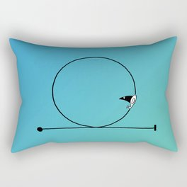 Looping Rectangular Pillow