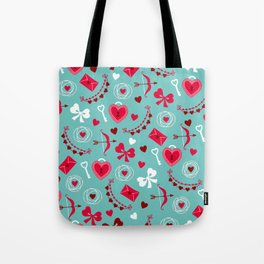 Valentine's Day: Keys to Unlock the Heart Tote Bag