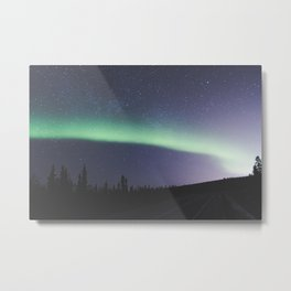 Band of light Metal Print