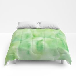 Watercolor abstract many color no.18 Comforters