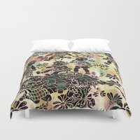 kids Duvet Covers featuring kids by Shelby Claire