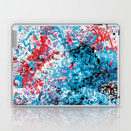 Demonic Toy Poodle Abstract Laptop & iPad Skin