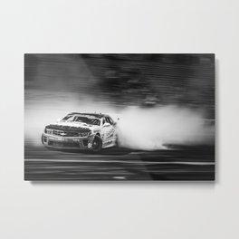 Formual Drift Camaro Metal Print