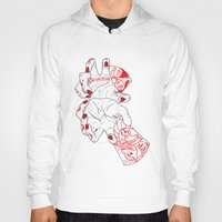 dragonball Hoodies featuring Kamehameha by scoobtoobins