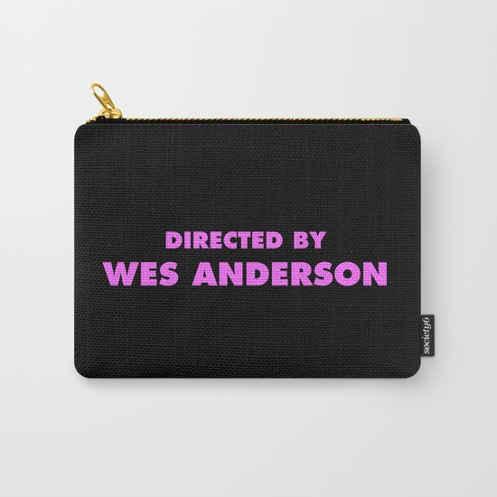 Directed By Wes Anderson Carry-All Pouch