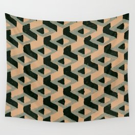 Geometry 3 Wall Tapestry