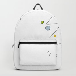 Cute Graphic Christmas Tree Backpack