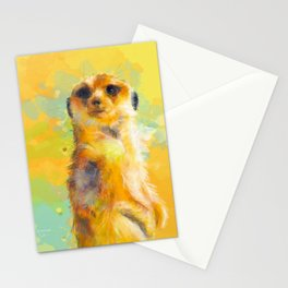 Dear Little Meerkat Stationery Cards