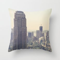 NYC | Empire State Building Throw Pillow