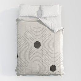 Accidental Zen Garden n°1 (West Meets East Series) Comforters