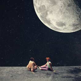 Art Print - I Gave You the Moon for a Smile - Frank Moth