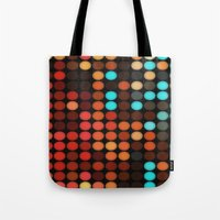 disco Tote Bags featuring Disco by DuckyB