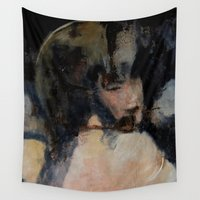 imagerybydianna Wall Tapestries featuring otherness by Imagery by dianna