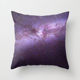 Purple Sky (Color) Throw Pillow
