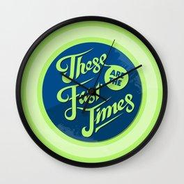 Fast Times Wall Clock