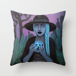 For Crystal Visions Throw Pillow