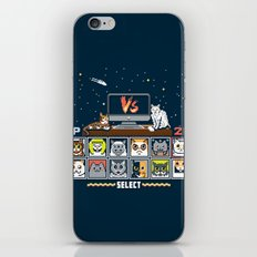 Internet Cat Fight iPhone & iPod Skin