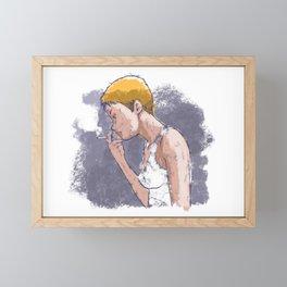 Chilling 1 Framed Mini Art Print