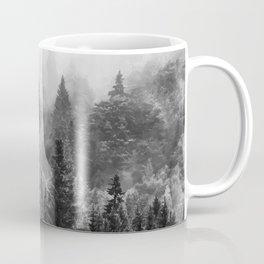 The Visionary Echo BW #society6 Coffee Mug