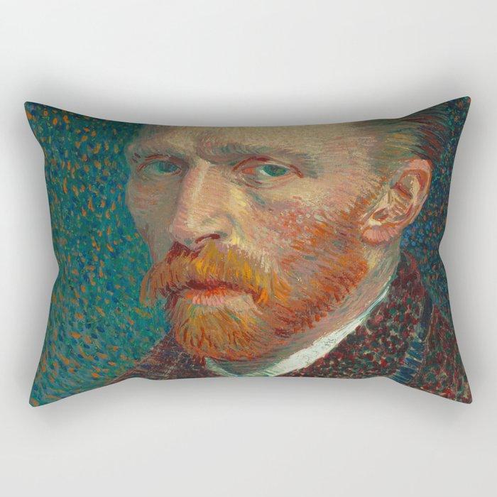 Vincent van Gogh Self-Portrait Rectangular Pillow