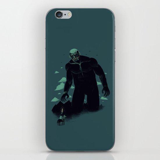 shadow of the titan iPhone & iPod Skin