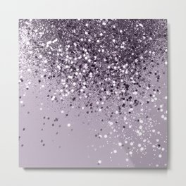 Sparkling Lavender Lady Glitter #2 #shiny #decor #art #society6 Metal Print