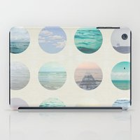 polka dot iPad Cases featuring Ocean Polka dot  by Pure Nature Photos