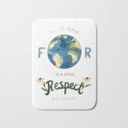 Respect Earth Art Bath Mat