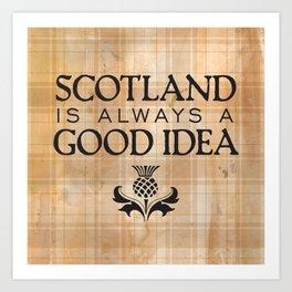 Scotland Trip Art Print