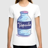 tequila T-shirts featuring Tequila by - OP -
