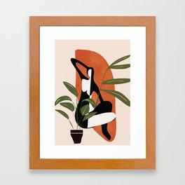 Abstract Female Figure 20 Framed Art Print