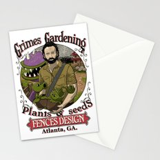 Grimes Gardening. Stationery Cards