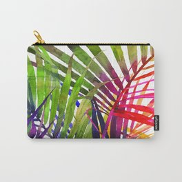 Watercolor Leaf Pattern No. 3 Carry-All Pouch