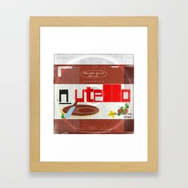 Nutella: unedited bonus tracks Framed Art Print