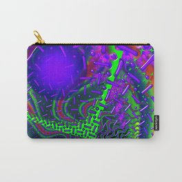 Overdrive 3D Psychedelic Fractal Carry-All Pouch