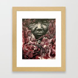 Zurraspita Fresh Framed Art Print