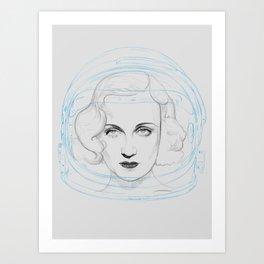 Space Lombard Art Print